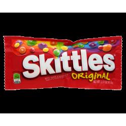 Skittles - sachet bonbons fruités 55g