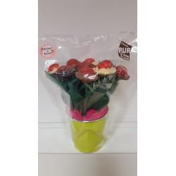 Bouquet Fleurs Chocolat