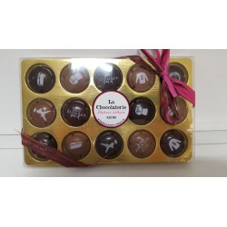 Capsules en chocolat